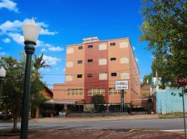 Hotel Estância, отель в городе Посус-ди-Калдас