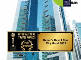 Golden Tulip Media Hotel, hotel near Jumeirah Lakes Towers Tram Station 1, Dubai