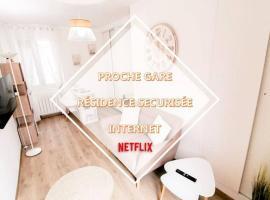 LE COCOON / PROCHE GARE / NETFLIX, apartment in Sens
