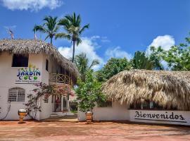 El Jardín del coco las galeras, hotel in Las Galeras