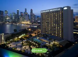 Mandarin Oriental, Singapore (SG Clean), spa hotel in Singapore