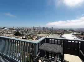 Alpine Terrace House, apartment in San Francisco