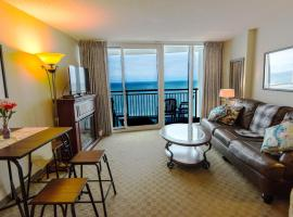 Deluxe Ocean front One Bedroom suite in Sandy Beach Resort, serviced apartment in Myrtle Beach