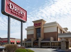 Drury Inn & Suites Kansas City Shawnee Mission, hôtel à Merriam