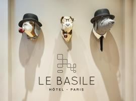 Hotel Le Basile, hotel near Tuileries Garden, Paris