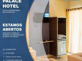 CRISTAL PALACE HOTEL, hotel em Aparecida