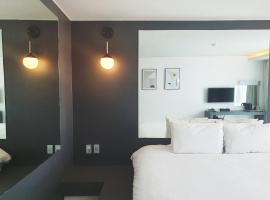 Pampas Hotel Jeju、済州市のホテル