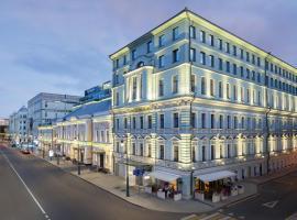 Чехофф Отель Москва Кьюрио Коллекшен Хилтон, отель в Москве, рядом находится Улица Тверская