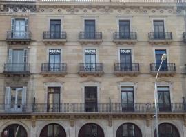 Hostal Nuevo Colon, hotel in Barcelona