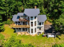 Beautiful Mountain Views and Privacy. Minutes to downtown Gatlinburg and National Park, cabin in Gatlinburg