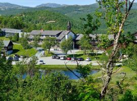Skinnarbu Nasjonalparkhotell, hotell på Rjukan