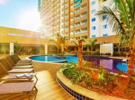 Apartamento em Resort de Olímpia, hotel em Olímpia