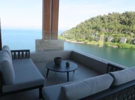 Espectacular Vista Pucón a orillas del Lago Villarrica, apartamento en Pucón