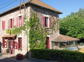 Hôtel Restaurant Le Moulin de Saint Verand, hôtel à Saint-Vérand