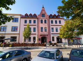 Hotel U Labutě, hotel in Žďár nad Sázavou