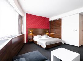 Tempus Club Garni Hotel, hotel poblíž Mezinárodní letiště M. R. Štefánika – Bratislava - BTS,