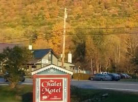 The Chalet Motel, hôtel à Manchester Center