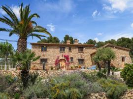 Masia Pou de la Vinya, casa o chalet en Olivella