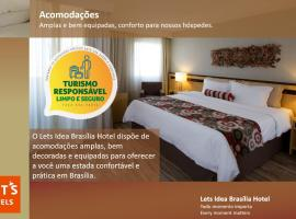 Lets Idea Brasília Hotel, family hotel in Brasilia