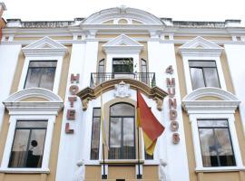 Hotel 4 Mundos, hotel in Cuenca