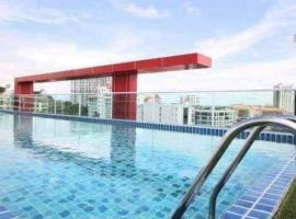 Art on the hill, apartment in Pattaya South