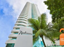 Radisson Recife, hotel near Recife´s Harbour, Recife
