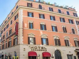 Hotel Accademia, hotel in Trevi, Rome
