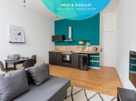Mag: T1 35m² neuf et douillet, hypercentre, appartement à Brest