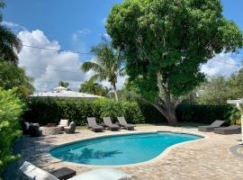 1bdr - 1ba guest house. Close to beach - shops, apartment in Fort Lauderdale