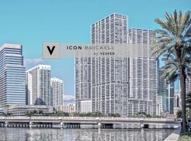 ICON Brickell Suites by Vesper, serviced apartment in Miami