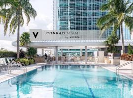 Conrad Miami Suites by Vesper, serviced apartment in Miami