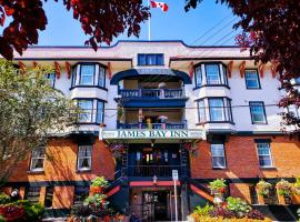 James Bay Inn Hotel, Suites & Cottage, hotel in Victoria