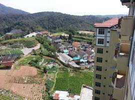 Cameron Pasar Malam Apartment @ Crown Imperial Court, vacation rental in Cameron Highlands