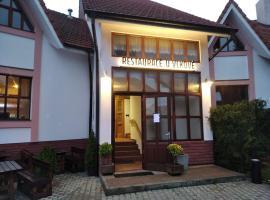 Restaurace U Vlkové – hotel w pobliżu miejsca Muzeum Techniki Wojskowej w Lešanach w mieście Ládví