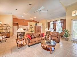 Canalfront Cape Coral Retreat with Dock and Patio, Ferienunterkunft in Cape Coral