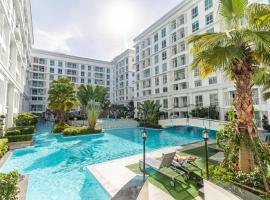The Orient Resort & Spa Pool access Pattaya ห้องพักติดสระว่ายน้ำ ใกล้หาดจอมเทียน พัทยา อพาร์ตเมนต์ในหาดจอมเทียน