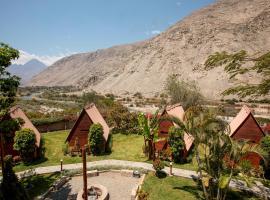 La Confianza Hotel, hotel with pools in Lunahuaná
