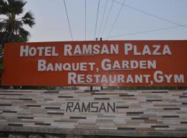 HOTEL RAMSAN PLAZA, hotel in Motīhāri
