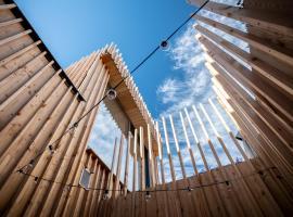 La camuche de Rene Desclee, duplex neuf de 75 m2 avec une grande terrasse au sud et au calme, apartment in Tournai