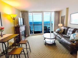Deluxe Ocean front One Bedroom suite in Sandy Beach Resort, serviced apartment in Myrtle Beach