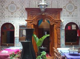 Ryad Bab Berdaine, riad in Meknès