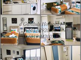 Studio I-Soho D'Gunduls Homestay by DGH I-CITY, apartment in Shah Alam