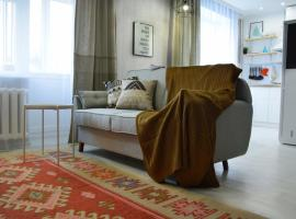 1-комн.квартира в скандинавском стиле в центре города, apartment in Almaty
