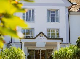 Thermenhotel Vier Jahreszeiten, hotel Locsmándon