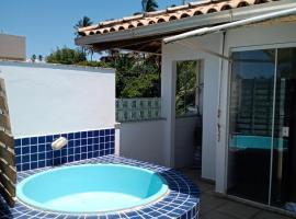 Cobertura duplex frente mar praia dos milionários, apartment in Ilhéus