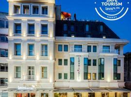 Levni Hotel & SPA - Special Category, отель с бассейном в Стамбуле