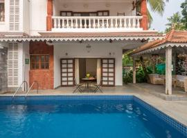 SilverSalt villas Nagoa, hotel with pools in Old Goa