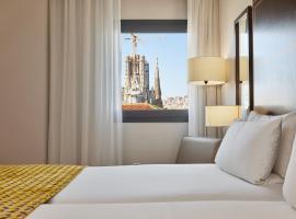 Eurostars Monumental, hotel near Sagrada Familia, Barcelona