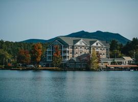 Saranac Waterfront Lodge, hotel in Saranac Lake