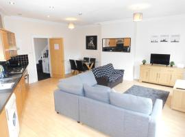 DJS - Deluxe city centre apartment, apartment in Sheffield